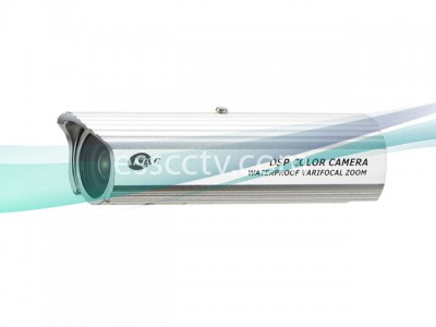 KT&C Color Bullet  Camera - 550TVL, 1Lux, 4~9mm Varifocal Lens, DC 12V