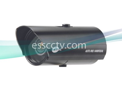 KT&C Color Varifocal Bullet Camera - 550TVL, 0.05Lux, 2.8~12mm,  DC 12V