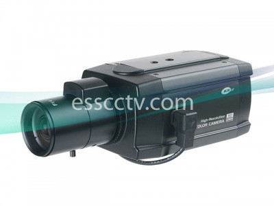 KT&C Color Box Camera - 3DNR, BLC, SENS UP, D ZOOM, 580TVL, 0.001Lux, Dual Voltage