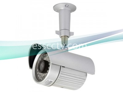 IR 2335 Night-Vision Outdoor Bullet Camera: 35 IR 80 FT, 4 or 6mm Lens