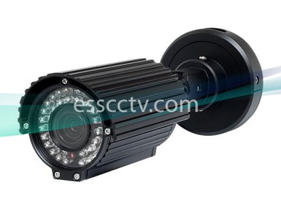 EYEMAX IR 6140EV Outdoor Night-Vision Camera: 650 TVL, 40 Smart IR, 2.8~12mm, 3D DNR, Slide Mount