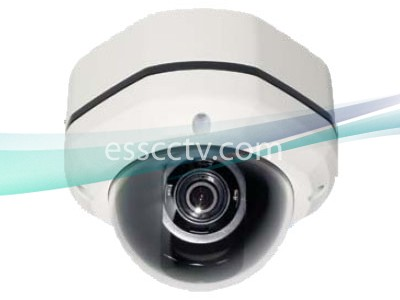 Eyemax DT 602V-M Hammer Dome Camera: 620 TVL, 2.8~12mm, 2D DNR, IP 68