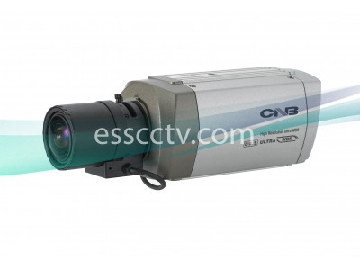 CNB BBB-34F Box Camera 580 TVL, Blue-i DSP Double-Scan WDR, ICR, 3D DNR, DSS, Dual Power