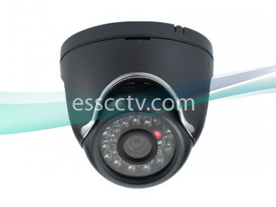 CNB LPL-20S Eyeball Indoor Dome IR Camera, 600 TVL MONALISA DSP, 24 LED