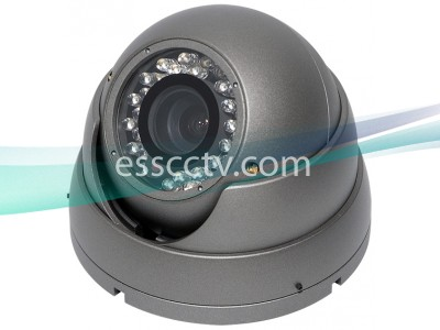 Eyeball Type 620 High Resolution Outdoor Dome IR Camera, 35 IR, 2.8~12mm Lens