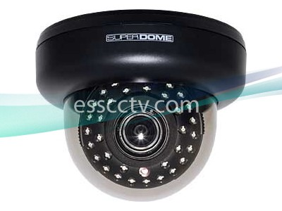 EYEMAX ID-6335V SUPER-DOME Camera  EFFIO DSP, EX-VIEW CCD, 700 TVL, 35 SMART IR, 2D-DNR, 2.8~12mm lens