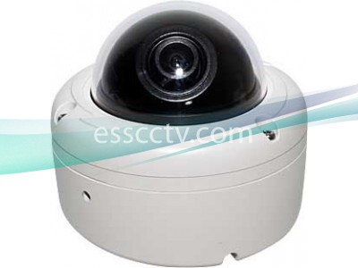 EYEMAX TA-602 Outdoor Dome Camera, 620 TVL, small IP 68 case, Surface/Flush Dual Mount
