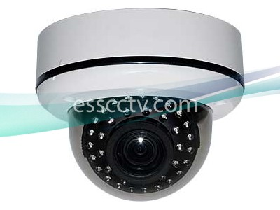 EYEMAX Outdoor Dome IR Camera EFFIO DSP, EX-VIEW CCD, 700 TVL, 35 SMART IR, 2D-DNR