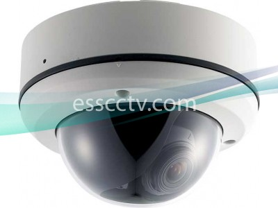 EYEMAX DT-632V Outdoor Dome Camera EFFIO DSP, EX-VIEW CCD, 700 TVL, 2D-DNR, 2.8~12mm lens, IP68 Waterproof